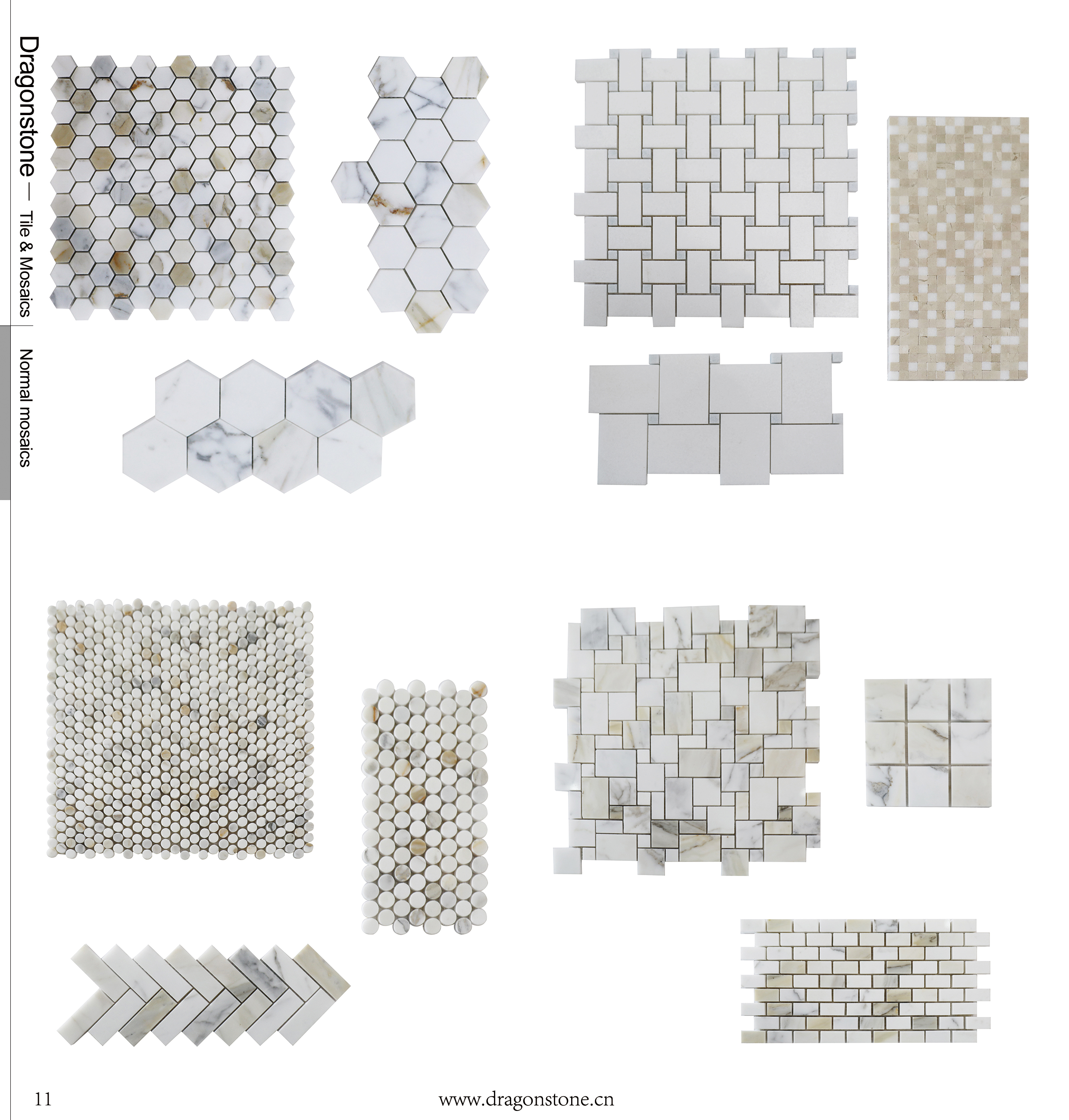 Dragonstone Tiles And Mosaics New Collection 2018 Sample