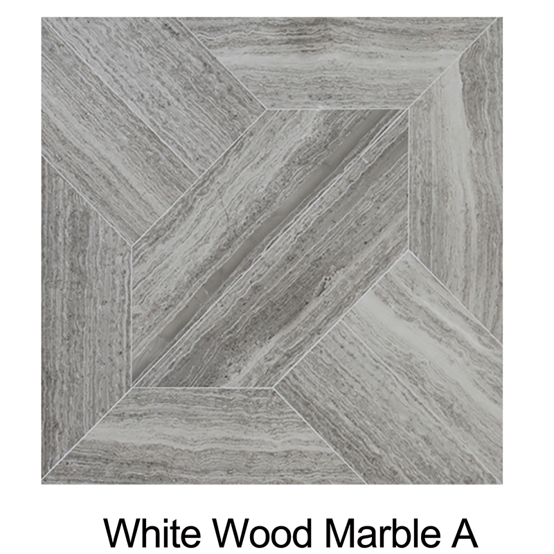 White Wood Marble A